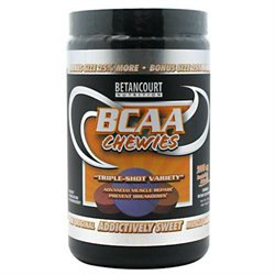 Betancourt Nutrition BCAA Chewies 2000mg, Triple-Shot, Tablets