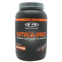 Muscleology Nitro-Pro Cookies & Cream - 3 lbs