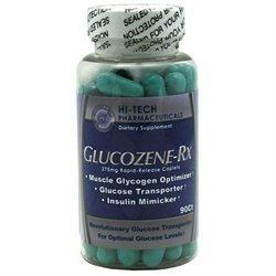 Hi-Tech Pharmaceuticals Glucozene Rx - 90 Caplets