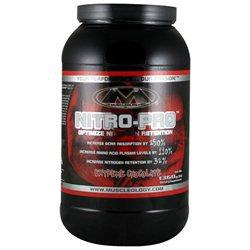 Muscleology Nitro-Pro Extreme Chocolate - 3 lbs