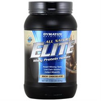 Dymatize Enterprises Inc. Dymatize Elite All-natural Whey Protein Isolate (2 Pounds)