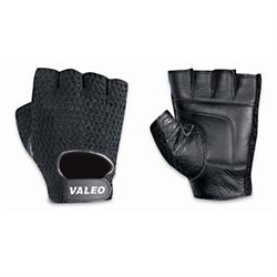 Valeo, Inc. Valeo Leather Lifting Gloves, Black, Men's Large (9 - 10), Pair