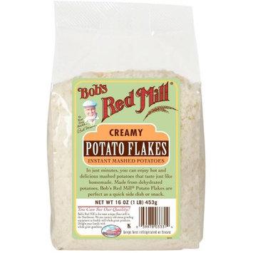 Bob's Red Mill Idaho Potato Flakes Instant Mashed Potatoes, 16 oz, (Pack of 4)