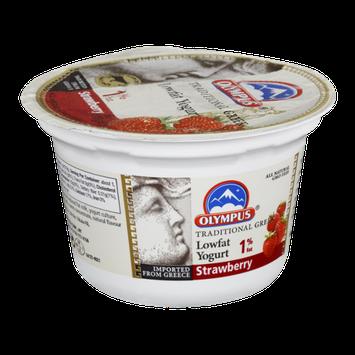 Olympus 1% Fat Strawberry Lowfat Yogurt