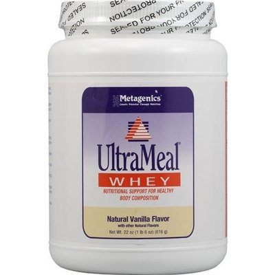 Metagenics UltraMeal WHEY Natural Dutch Chocolate Flavor-26oz/616 g