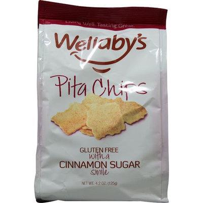 Wellaby's Cinnamon and Brown Sugar Pita Chips (6x4.2 Oz)