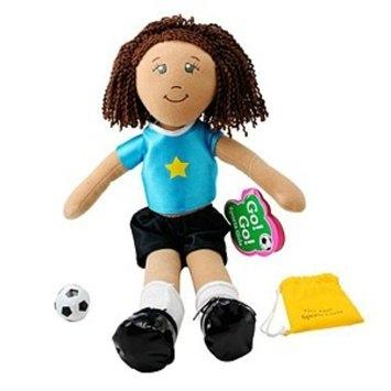 Dream Big Toys Go! Go! Sports Girl - Soccer Girl