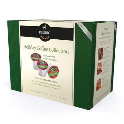 Keurig Holiday Coffee Collection for Keurig Brewers, 48-Count Box, K-Cups