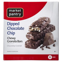 Market Pantry Chocolate Covered Dipped Granola Bars with Chocolate