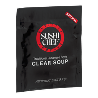 Baycliff Company Sushi Chef Clear Soup Traditional Japanese Style