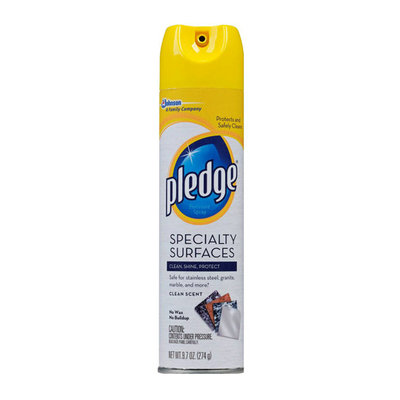 Pledge Specialty Surfaces Furniture Spray