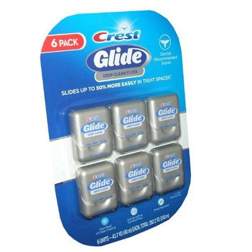 Crest Glide Deep Clean Floss (43.7 Yard X 6 Units)