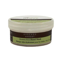 Upper Canada Soap   Candle Upper Canada Soap & Candle All About Hands Avocado Moisture Rich Hand Mask, 6.3-Ounce Jars (Pack of 2)