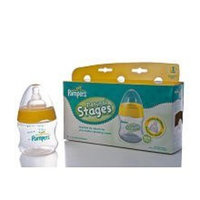 Pampers Airwave Venting System, Stage 1, 5 Ounces, Clear, Triple Pack