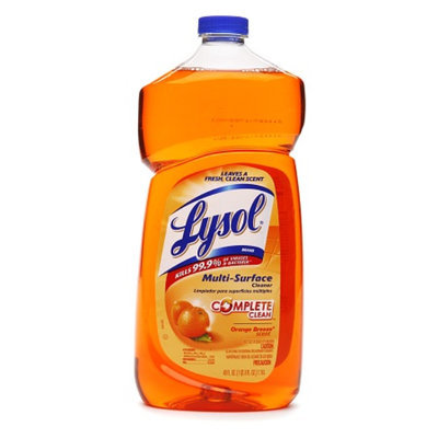 Lysol Complete Clean Multi-Surface Cleaner Orange Breeze