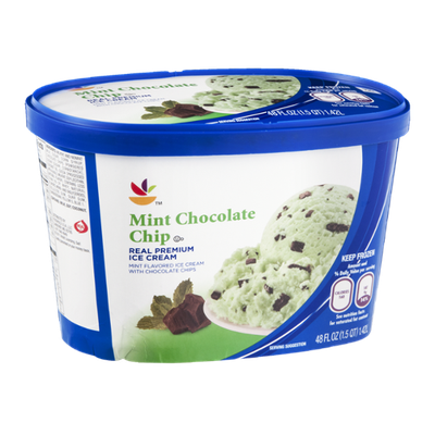 Ahold Ice Cream Mint Chocolate Chip