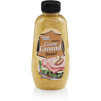 Great Value: All Natural Coarse Ground Mustard, 12 oz