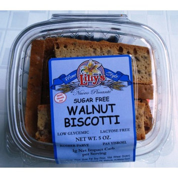 Walnut Biscotti 5.oz Sugar Free From Lilly's Home Style Bake Shop