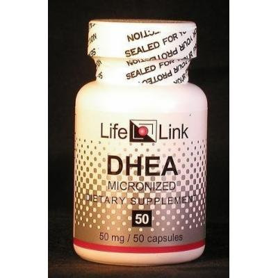 DHEA 50mg LifeLink 50 Caps