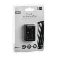 Case Logic 55-in-1 USB 2.0 Card Reader/Writer