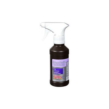 Hydrogen Peroxide First Aid Antiseptic Topical Solution Spray Bottle Trigger Spayer 8 Oz 2 Pack