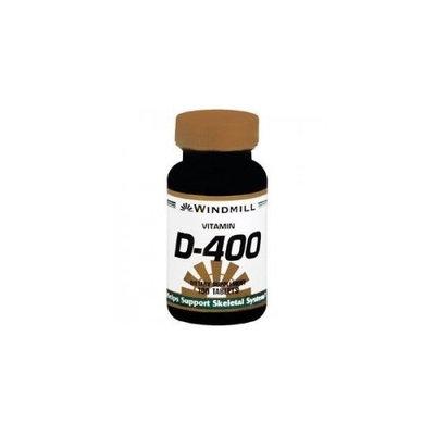 Vitamin D Tablets 400 Iu Windmill, Size: 250