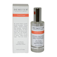 Fresh Ginger by Demeter for Unisex - 4 oz Cologne Spray