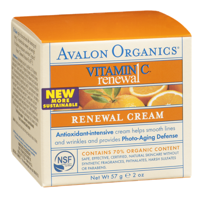Avalon Organics Vitamin C Renewal - Renewal Cream