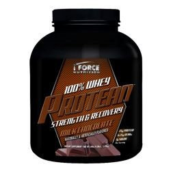 iForce Nutrition 100% Whey Protean Chocolate - 4.3 LBS