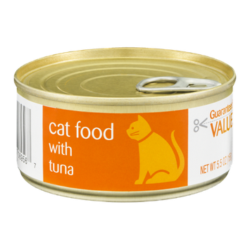 Guaranteed Value Cat Food with Tuna
