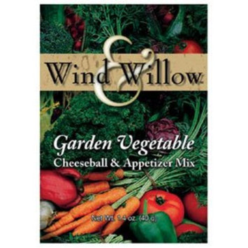 Wind & Willow Garden Vegetable Cheeseball & Appetizer Mix