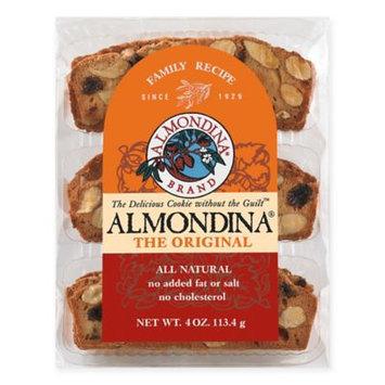 Almondina All-Natural Cookies, Original, 4 Oz, Pack Of 12