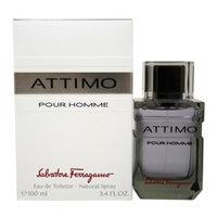 Salvatore Ferragamo Attimo Eau de Toilette Spray For Men, 3.4 fl oz