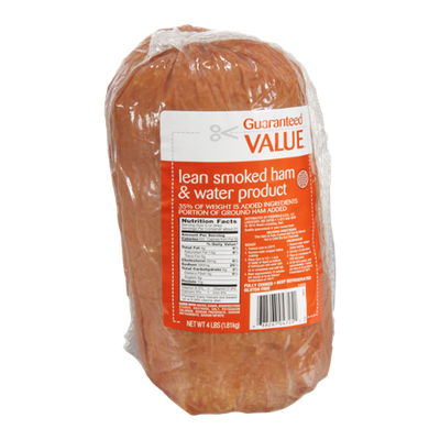 Guaranteed Value Lean Smoked Ham