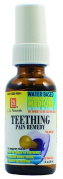 Teething Pain Remedy, 1 oz, L.A. Naturals
