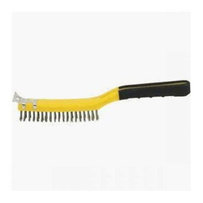 Hyde 46810 Soft Grip Stainless Steel Wire Brush