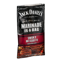 Jack Daniel's Marinade in a Bag Liquid Marinade Smoky Mesquite