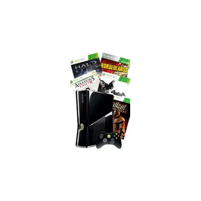 Xbox 360 (S) 250GB Refurbished Blast from the Past System Bundle