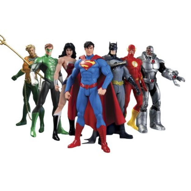 DC Comics New 52 Justice League Figure Box Set
