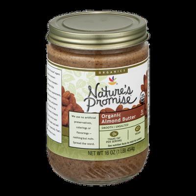 Nature's Promise Organics Organic Almond Butter