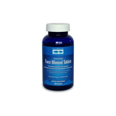 Trace Minerals Research Trace Mineral Tablets - 300 Tablets