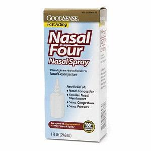 Good Sense Nasal Four Nasal Spray Decongestant