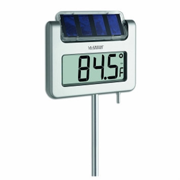 La Crosse Technology Solar Digital Garden Thermometer with Backlight