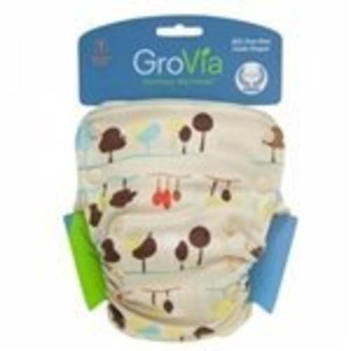 GroVia All in One Cloth Diaper - Nature