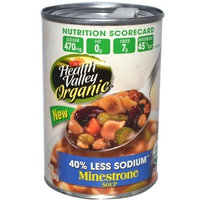 Health Valley Natural Foods Health Valley Minestrone Fat Free, 15-Ounce Cans (Pack of 12)