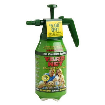 Liquid Fence 370 Yard Net Lawn and Yard Insect Repellent Pressure Sprayer, 48-Ounce