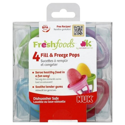 Freshfoods NUK Fill & Freeze Pops (Discontinued by Manufacturer)