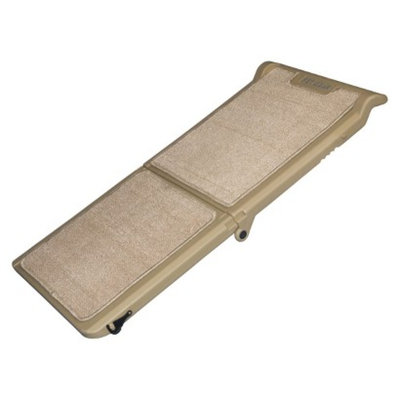 Pet Gear PET GEAR Tan Indoor Bi-Fold Half Ramp, Tan