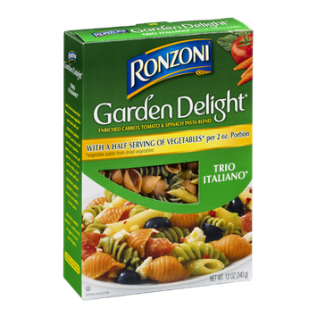 Ronzoni Garden Delight Trio Italiano Pasta Blend