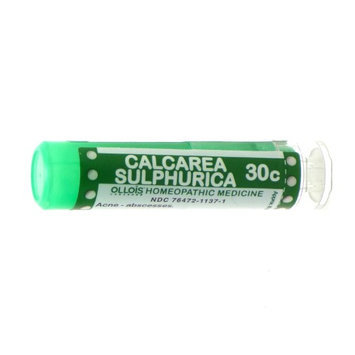 Ollois Homeopathic Medicine - Calcarea Sulphurica 30 C - 80 Pellets